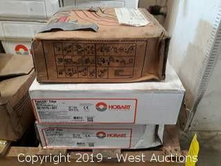 (2) Boxes Of Hibart FabCOR Edge Welding Wire And (1) Box Of Lincoln Electric Weld Wire