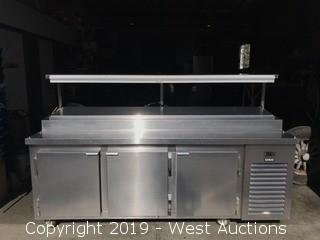 Kairak KBP-91S Stainless Steel Cold Table