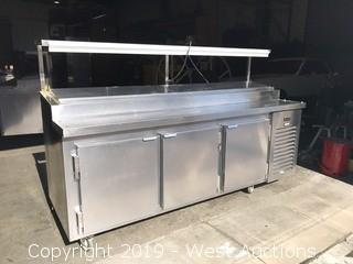 Kairak KBP-91S Prep Table with Cold Storage