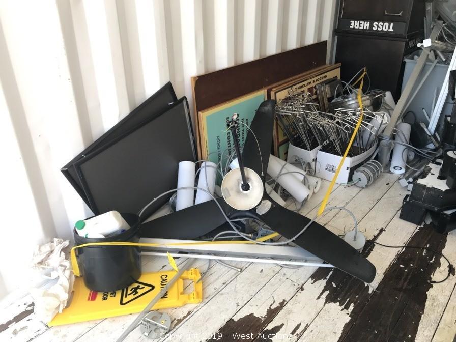 Online Auction of Used Restaurant Equipment