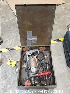 """Milwaukee 1000 1/2"""" Drill With Bits And Case"""