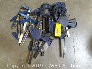 (10) Slide Clamps