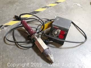 Heavy Duty Soldering Iron with Voltage Control