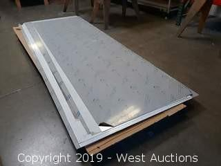 (7) Sheets Of Stainless Steel Sheet Metal