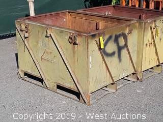 """49"""" X 38"""" Forkliftable Steel Bin"""
