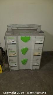(3) Stackable Festool Sander Storage Boxes