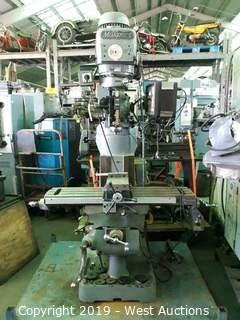 Millport 3V Vertical Milling Machine With Vise, Digital Readout And Power Feed