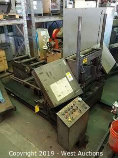 Fabricating Equipment Co. F-14 Skid Mounted Automatic Bandsaw