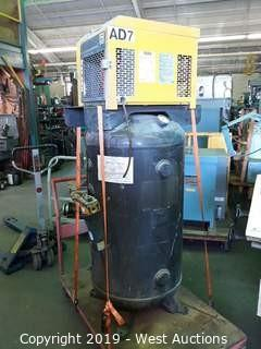 Kaeser KRD035 Compressed Air Dryer With 80 Gallon Air Tank