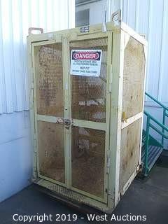 6' Weldcoa 910 Steel Elevator Cage