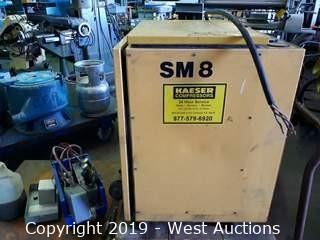 Kaeser SM 8 Rotary Screw Air Compressor