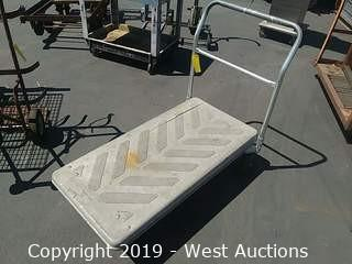 Platform Truck w/ Plastic Deck