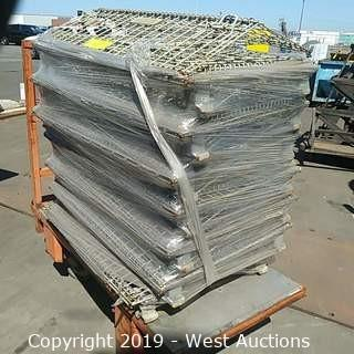 (6+) Steel Wire Folding Baskets