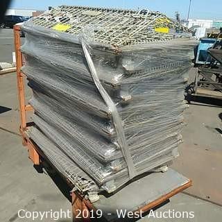 (6+) Steel Wire Folding Baskets