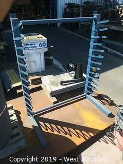5' 13 Rung Steel Cantilever Rack