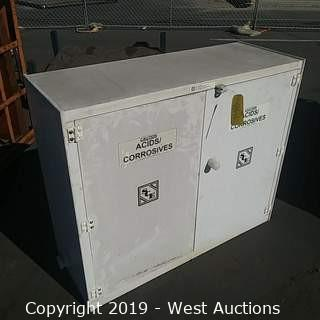 SCE Acid and Corrosives Storage Cabinet