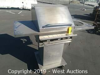 IronWorks Pedastal Propane Barbeque