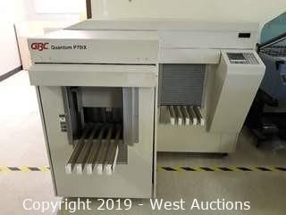GBC Quantum P70iX Automatic Punch Machine