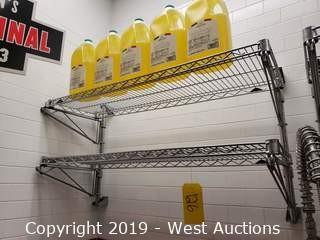 (1) Wall Mount Metro Shelf