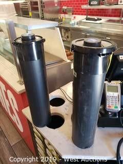 (4) EZ-Fit Cup Dispensers