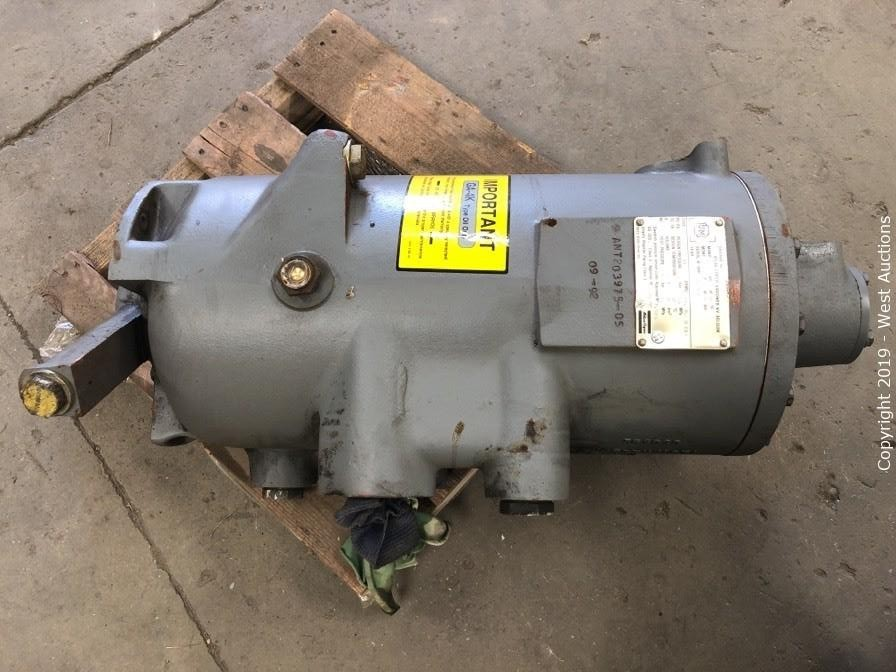 Online Auction of Air Compressor, Threading Machine, Electric Motors and More in Solano County