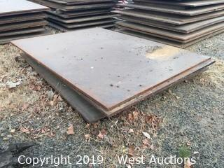 (3) 6'x8' Trench Plates