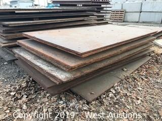 (9) 5'x10' Trench Plates