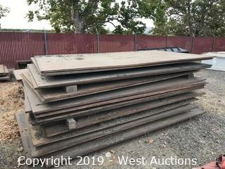 (10) 6'x10' Trench Plates