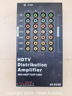 HDTV Distribution Amplifier