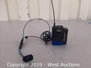 Audio Technica Bodypack Transmitter and Headworn Mic