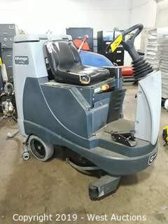 "Advance Advenger  X3405D-C 34"" Ride On Floor Scrubber"