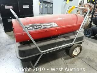 Dayton 3E219B Oil Fired Forced Air Heater