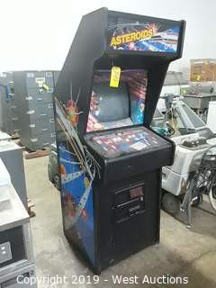 Asteroids Arcade Video Game (Out Of Order)