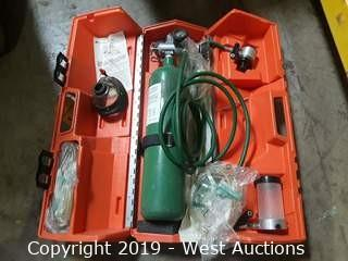 Life Support Products Oxygen Delivery Cylinder with Case and Accessories