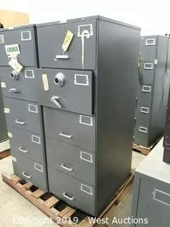Mosler 5 Drawer File Safe (No Combo)