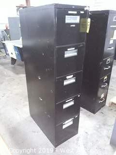 Hon 5 Tier File Cabinet