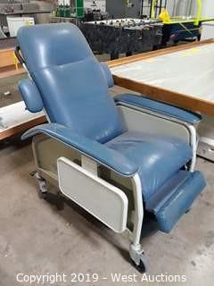 Lumex 577RG427 Clinical Care Recliner Wheel Chair