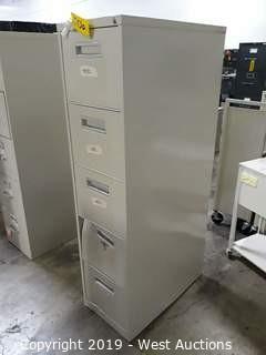 5 Tier File Cabinet