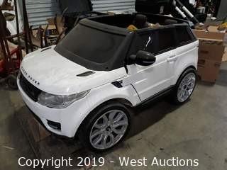 Range Rover 12V Kids Cart