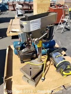Powr-Kraft 1/3 HP Heavy Duty Drill Press