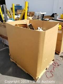Contents Of Crate; Door Handles, Hydraulic Door Stops, Brackets