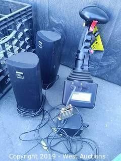 Gimbal 546-G4994 Serial Joystick & JBL PC Speakers