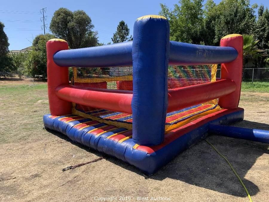 Online Auction of Inflatable Bounce Houses & Party Equipment Rentals in Sacramento, CA