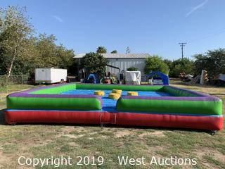 4-Person Inflatable Joust Ring