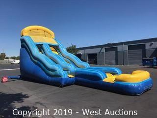 18' Water Slide with Pool