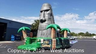 Tiki Island Inflatable Climbing Wall