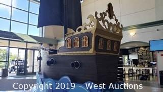 GIANT Custom Pirate Ship 14' long up to 16' tall