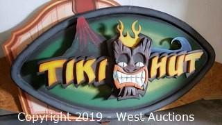Tiki Hut Sign