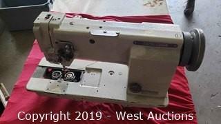 Mitsubishi Double Needle Sewing Machine (Not Working)