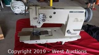 Mitsubishi Double Needle Sewing Machine (Operation Not Known)
